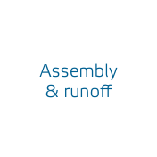 Assembly & runoff