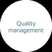 Quality management - We pursue a holistic quality concept