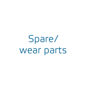 Spare / wear parts
